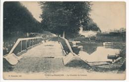 CPA 51 VITRY LE FRANCOIS Le Chantier De Bateaux - Canal Ecluse - Vitry-le-François