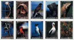 Ref. 587067 * NEW *  - ECUADOR . 1999. FUNDACION CHARLES DARWIN POR LAS ISLAS GALAPAGOS - Ecuador