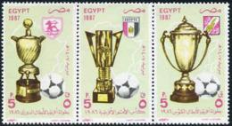 Ref. 208631 * NEW *  - EGYPT . 1987. AFICA FOOTBALL CUP. COPAS AFRICANAS DE FUTBOL - Egypt