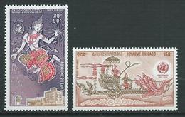LAOS 1973 . Poste Aérienne  N°s  108 Et 109 . Neufs ** (MNH) - Laos