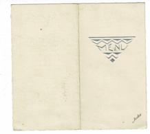 Menu Illustré, Format 170 X 160 Mm Ouvert - 22 Janvier 1939 - Menus