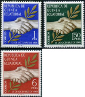 Ref. 190506 * NEW *  - EQUATORIAL GUINEA . 1968. INDEPENDENCE. INDEPENDENCIA - Equatorial Guinea