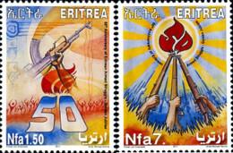 Ref. 279983 * NEW *  - ERITREA . 2011. CINCUENTENARIO DE LA LUCHA ARMADA - Eritrea