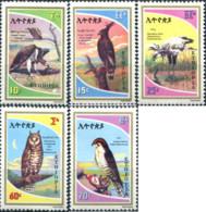 Ref. 33427 * NEW *  - ETHIOPIA . 1980. PREY BIRDS. AVES RAPACES - Etiopía