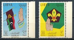 °°° LIBIA LIBYA - Y&T N°240/41 - 1964 MNH °°° - Libia