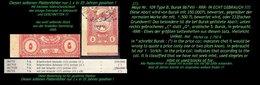 EARLY OTTOMAN SPECIALIZED FOR SPECIALIST, SEE...Mi. Nr. 752 - Mayo 109 B - Burak 897 VIII- -RRR- Unikat ? - 1920-21 Anatolie