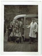 Foto/Photo. Autocar Et Touristes. 1947. - Cars