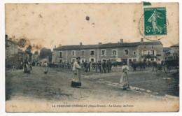 CPA 79 LA FERRIERE THENEZAY Le Champ De Foire - Other Municipalities