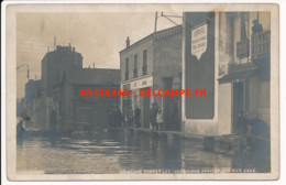 CPA 92 Carte Rare LEVALLOIS PERRET Carte-photo Inondations De Janvier 1910 Rue Cavé - Levallois Perret