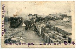 - Foggia - Déposito Locomotive F. S. Guerre De 1914 - 1918 - Armée D'Orient, 3 éme Groupe D'aviation, BE, Scans. - Oorlog 1914-18