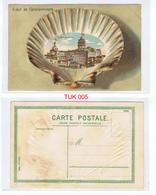 Salut De Constantinople  Le Tour De Galata Coloured Postcard UNPOSTED Circa Early 1900s - Türkei