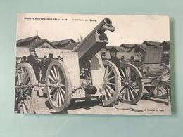 LE MANS. - Guerre Européenne 1914-15-16 — L' Artillerie Au Mans - Le Mans