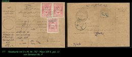 EARLY OTTOMAN SPECIALIZED FOR SPECIALIST, SEE...Mi. Nr. 752 - Mayo 109 - Postanweisung - 1920-21 Anatolie