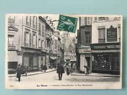 LE MANS. - Carrefour Saint-Nicolas Et Rue Marchande - Le Mans