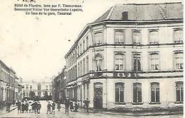 CPA /PK /  AK  -  THOUROUT  Hôtel De Flandre En Face De La Gare - Torhout