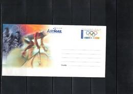 Australia 2000 Cycling Centenary Of The UCI Interesting Postal Stationery - Radsport