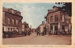 SAINT PIERRE DES FLEURS - Le Carrefour - Route De Neubourg - Route De Brionne - Frankrijk