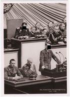 Alte Hoffmannkarte Die Historische Reichstagsitzung 1939 - 1939-45