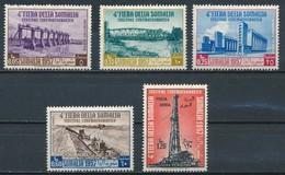 °°° SOMALIA ITALIANA - Y&T N°252/54 + 65/66 PA - 1957 MNH °°° - Somalie (1960-...)
