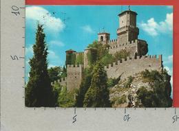 CARTOLINA VG SAN MARINO - 1° Torre - 10 X 15 - ANN. 1967 - San Marino