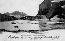 Massif Du Pelvoux; Le Lac De L'echauda - Frankreich