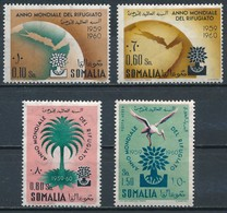 °°° SOMALIA ITALIANA - Y&T N°277/79 + 83 PA - 1960 MNH °°° - Somalia (1960-...)