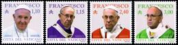 Vatican 2019 Mi 1958-61 Pontyfikat Papieża Franciszka - 2019 - Vatican