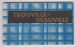 14 - TROUVILLE DEAUVILLE - Carnet De 10 VUES - Ed. Georges BIAIS Trouville - 1936 - Complet - Trouville