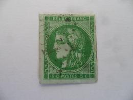 (France - 1871 +++)  - Céres  5c   (Y & T.  N° 42B)...........voir Scans - 1871-1875 Cérès