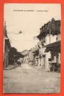 TSB-09 Divopnne-les-Bains, Grande Rue. Circulé Vers Bois-d'Amont - Divonne Les Bains