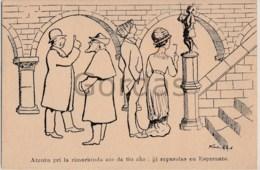 Esperanto - Illustrateur Quentin Black - Esperanto