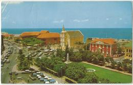 8Eb-296: CURACAO N-Antilles  Bird's Eye Wilhelmina's Park..> Kessel-Lo1968 - Curaçao