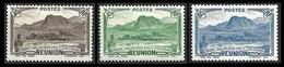 REUNION   1939-40  -  Y&T  164 - 165 - 166  -  Salazie  De 1939 - NEUFS** - Cote 1.96e - Unused Stamps