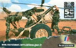 CODcarte =  Armée  (Montauban) - Andere Voorafbetaalde Kaarten