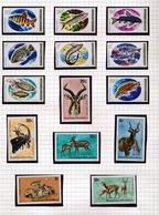RWANDA  14 STAMPS NEW NEUF NIEUW - Collections