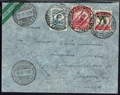 """Colombie - 1936  """"Servicio De Transportes Aéréos Baranquilla Et Bogota"""" Enveloppe De Pacho Pour Zurich - B/TB - - Colombie"""