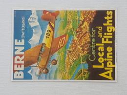 Plakat Für Verkehrsverein Bern  (gelaufen ,  1998); H17 - Avions