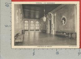CARTOLINA NV ITALIA - 1936 Mostra Settecento Veneziano A Cà Rezzonico VENEZIA - Portego Di Mezzo - 10 X 15 - Esposizioni