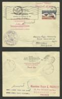 """Paquebot FRANCE """" Croisière Dans Les Caraibes Novembre 1966 """" Oblitération De FORT DE FRANCE - MARTINIQUE - Marcophilie (Lettres)"""