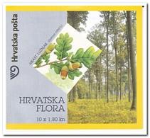 Kroatië 2002, Postfris MNH, Trees, Booklet - Kroatië