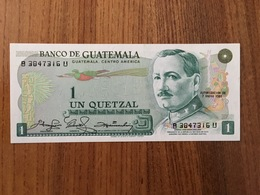GUATEMALA 1 Quetzal - P 59 - 7 De Enero 1981 - UNC - Guatemala