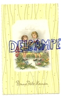 Bonne Fête Maman. Enfants, Fleurs. Coloprint Spécial 44961 - Fête Des Mères