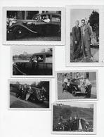 Oldtimer  Voiture Ancienne Automobile  Citroën Traction Photos 9x6 Et 12x7 - Cars