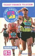 TICKET Téléphone  =  Lyon Natation = Marathon - France