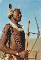 SWAZILAND  :  Guerrier Swazi    . Carte Editions LE TALLEC. Oblitération De Mbabane - Swaziland
