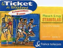 TICKET Téléphone  =  Meeting STANISLAS - Frankrijk