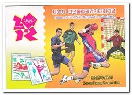 Noord Korea 2012, Postfris MNH, Olympic Summer Games, Booklet - Korea (Nord-)