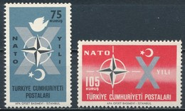 °°° TURKEY - Y&T N°1614/15 - 1962 MNH °°° - 1921-... Repubblica