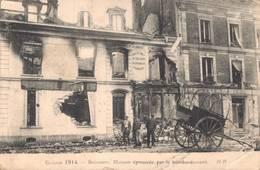 02 SOISSONS Maison Eprouvée Par Les Bombardements - Soissons