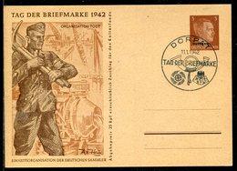 D.Bes.39/45-Ostland / 1942 / Sonderpostkarte Mi. P 3/04 So-Stempel DORPAT (Ersttag) (11335) - Besetzungen 1938-45